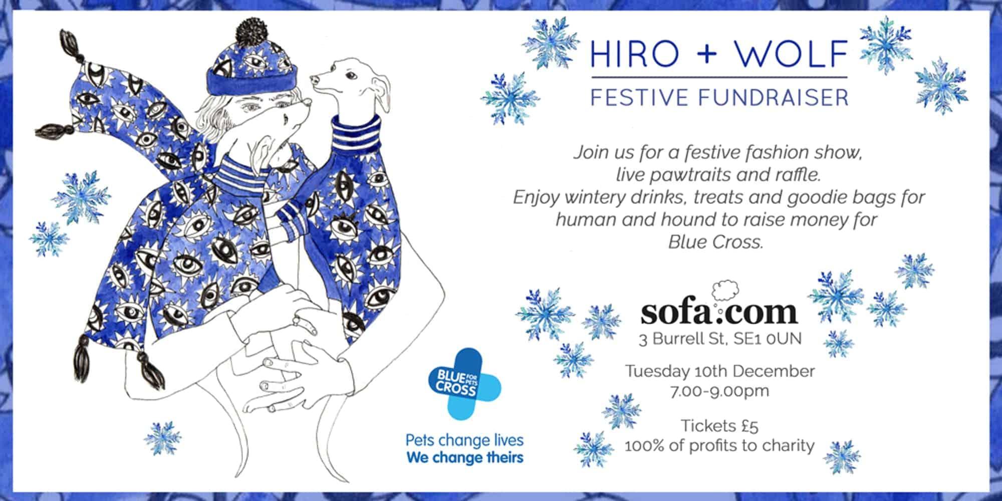 Hiro + Wolf Festive Fundraiser 2019
