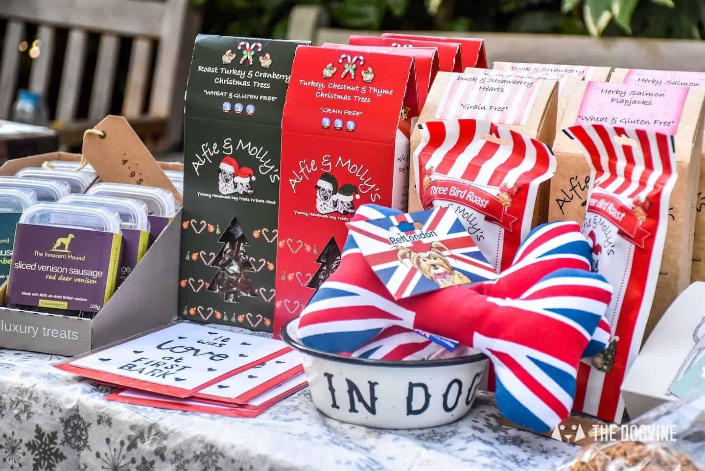 London Dog Christmas Market Treats