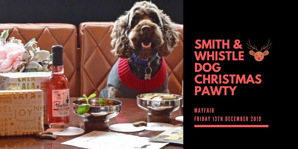 SMITH & WHISTLE DOG CHRISTMAS PAWTY 2019