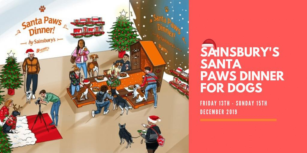 Sainsbury's Santa Paws Dinner For Dogs 2019