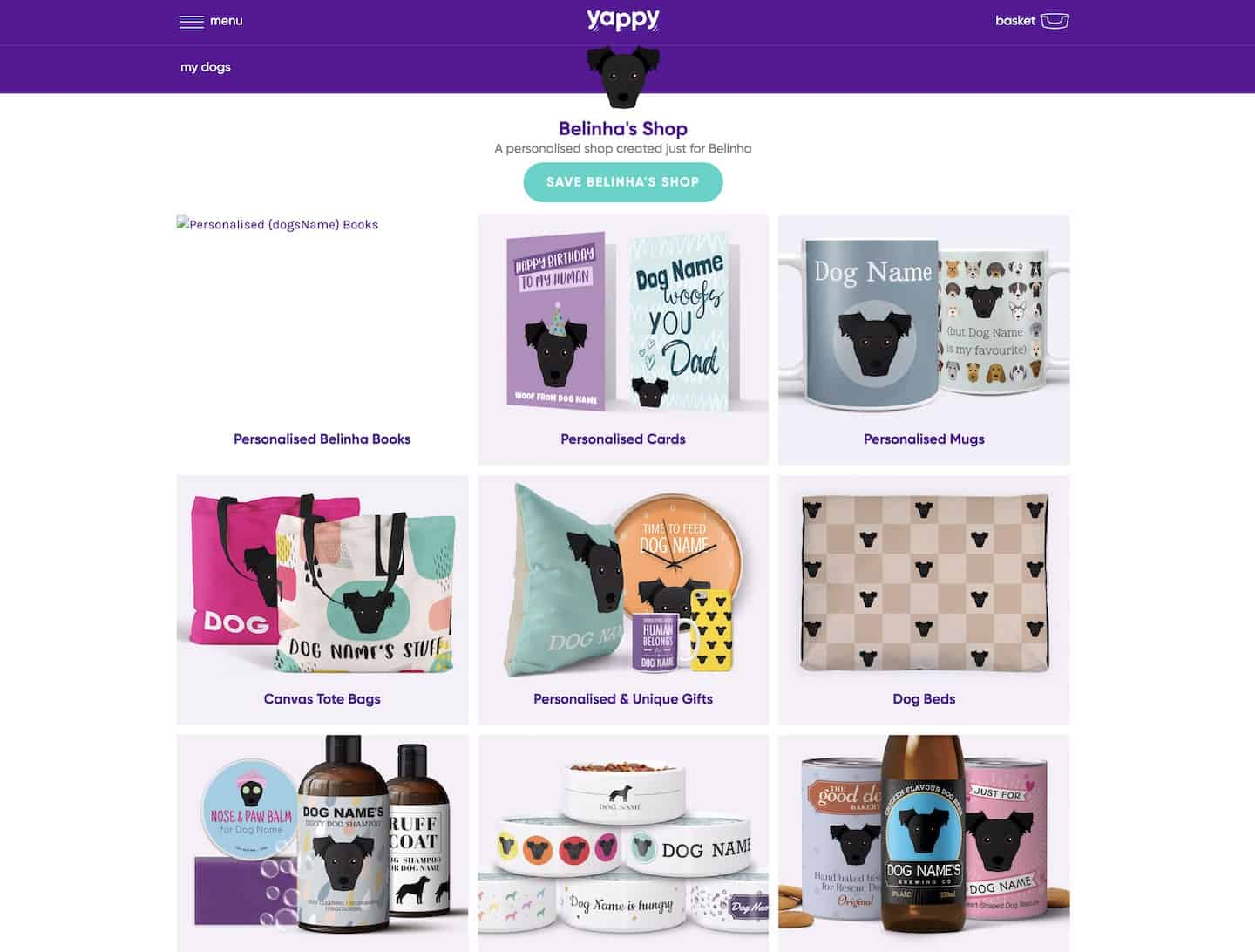 The Best Personalised Pet Gifts For Dog Owners - Yappy.com