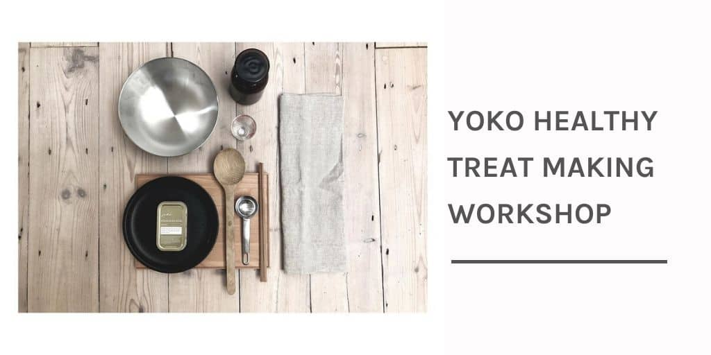 Yoko Healthy Treat Making Workshop