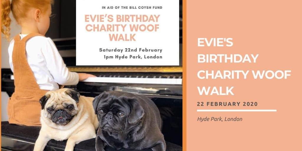 Evie's Birthday Charity Woof Walk
