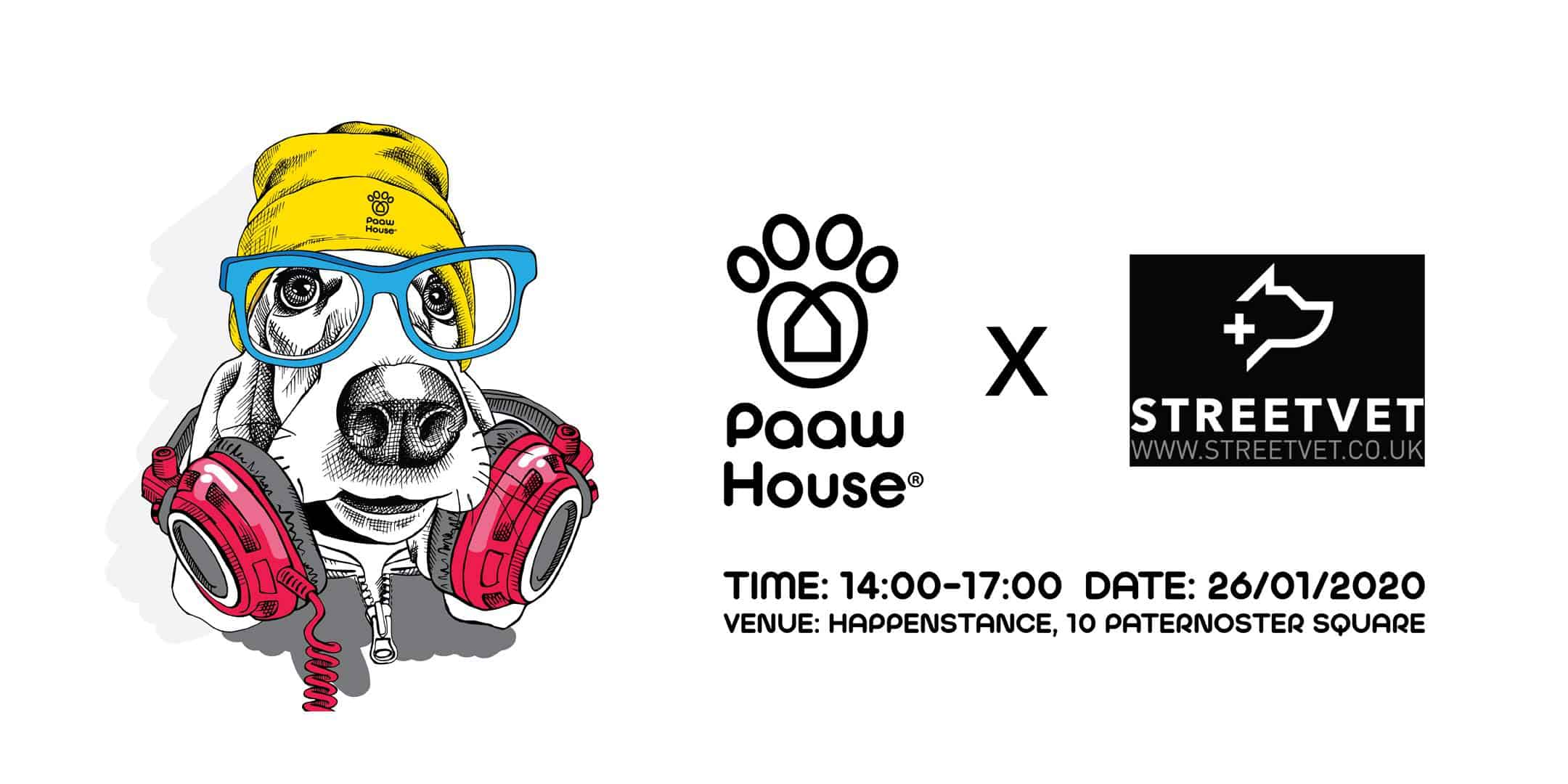 PAAW House x StreetVet Charity Party
