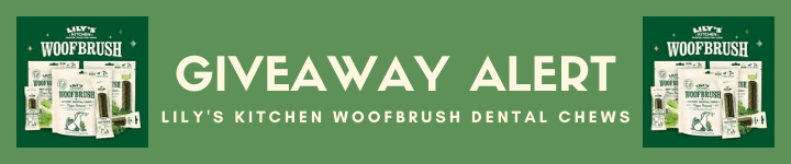 Lily's Kitchen Doggy Dentist Woofbrush Dental Chews Giveaway