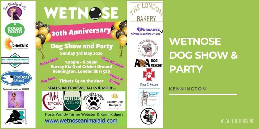 The Wetnose Dog Show & Party 2020