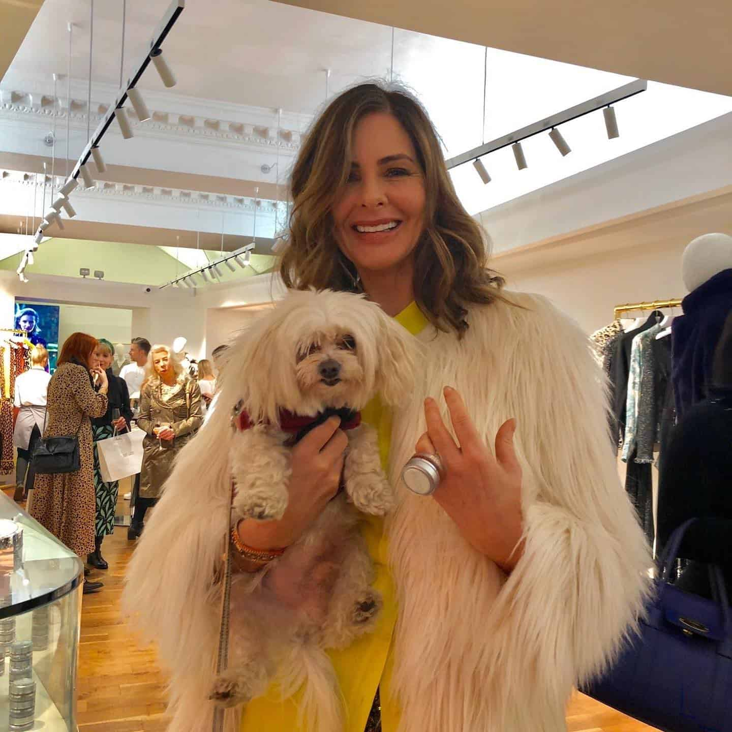 Mr Zipper The Dog About Town - Zipper Meets Trinny Woodhall