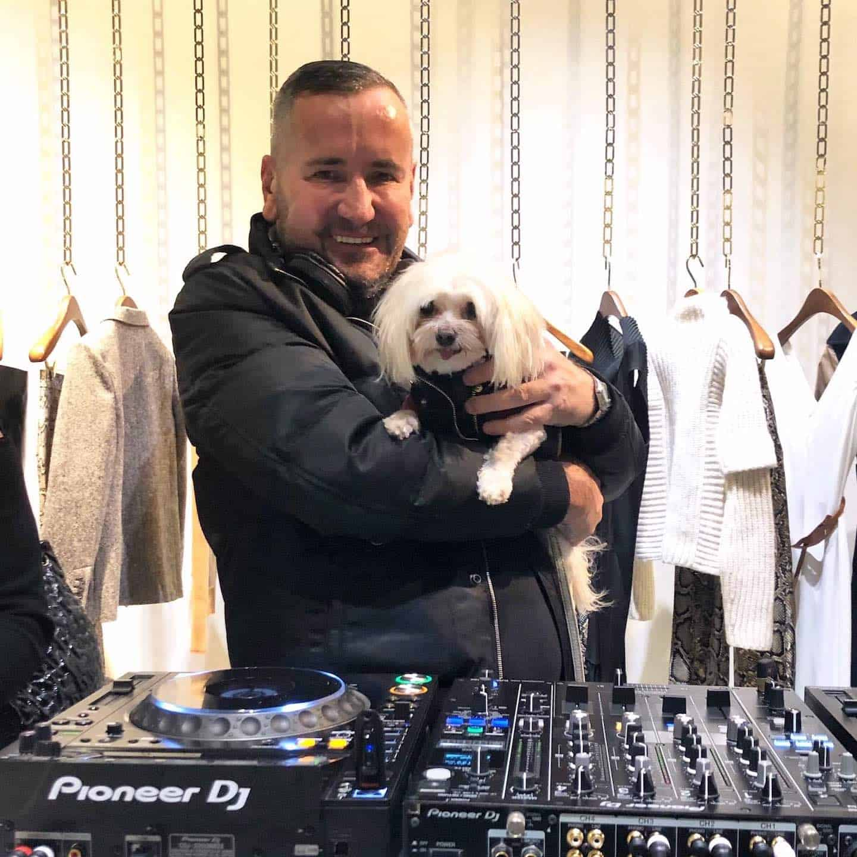 Mr Zipper The Dog About Town - Zipper and DJ Fat Tony
