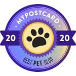 My Postcard Best Pet Blog Badge