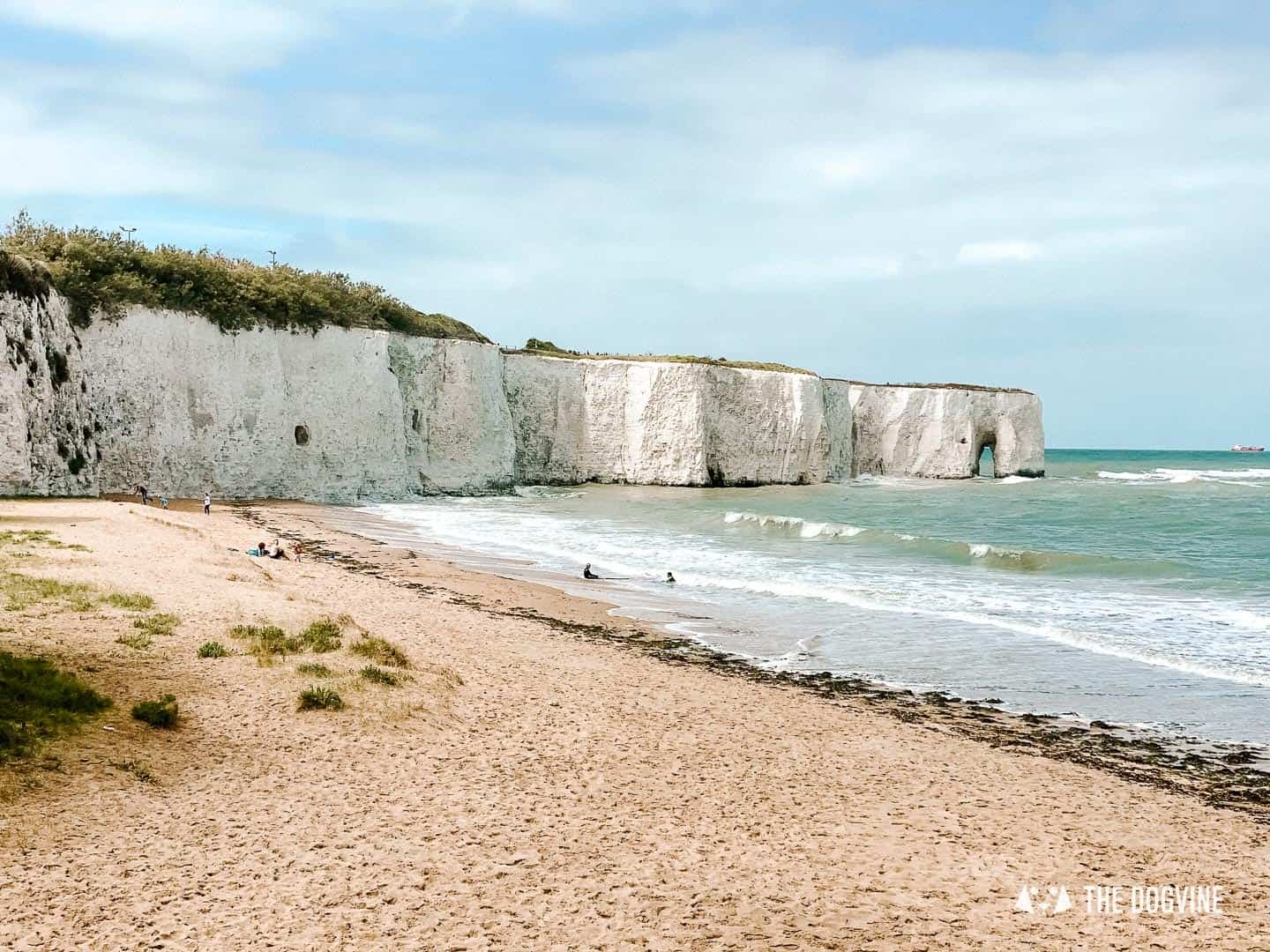 Kingsgate Bay - Dog-Friendly Beaches in Kent To Visit With Your Dog