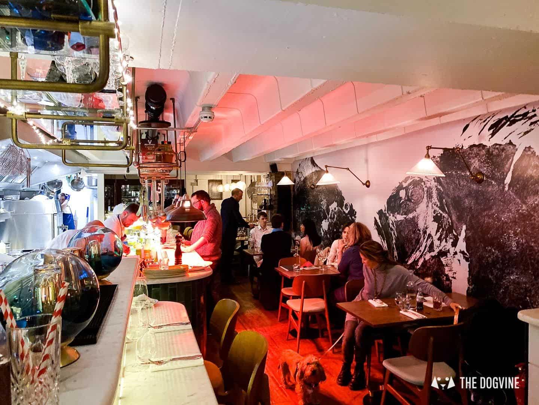 The Melusine Restaurant St Katharine Docks