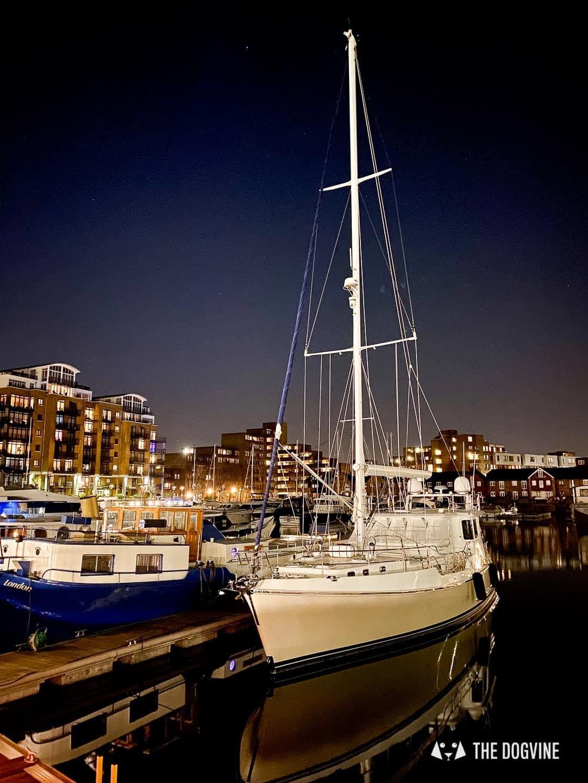 Boats at St Katharine Docks