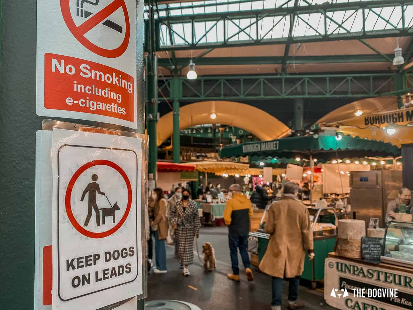 Dogs Are Allowed on Leads at Borough Market