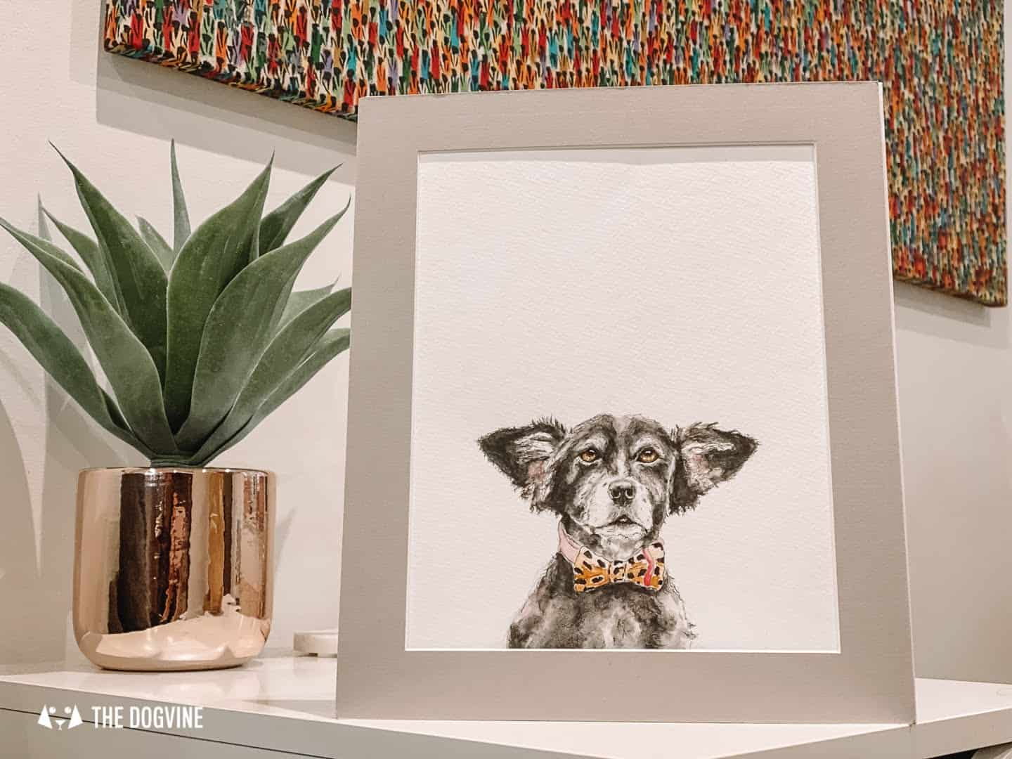 Wonderful Dog Watercolour Portraits by Small Creatures Studio 32