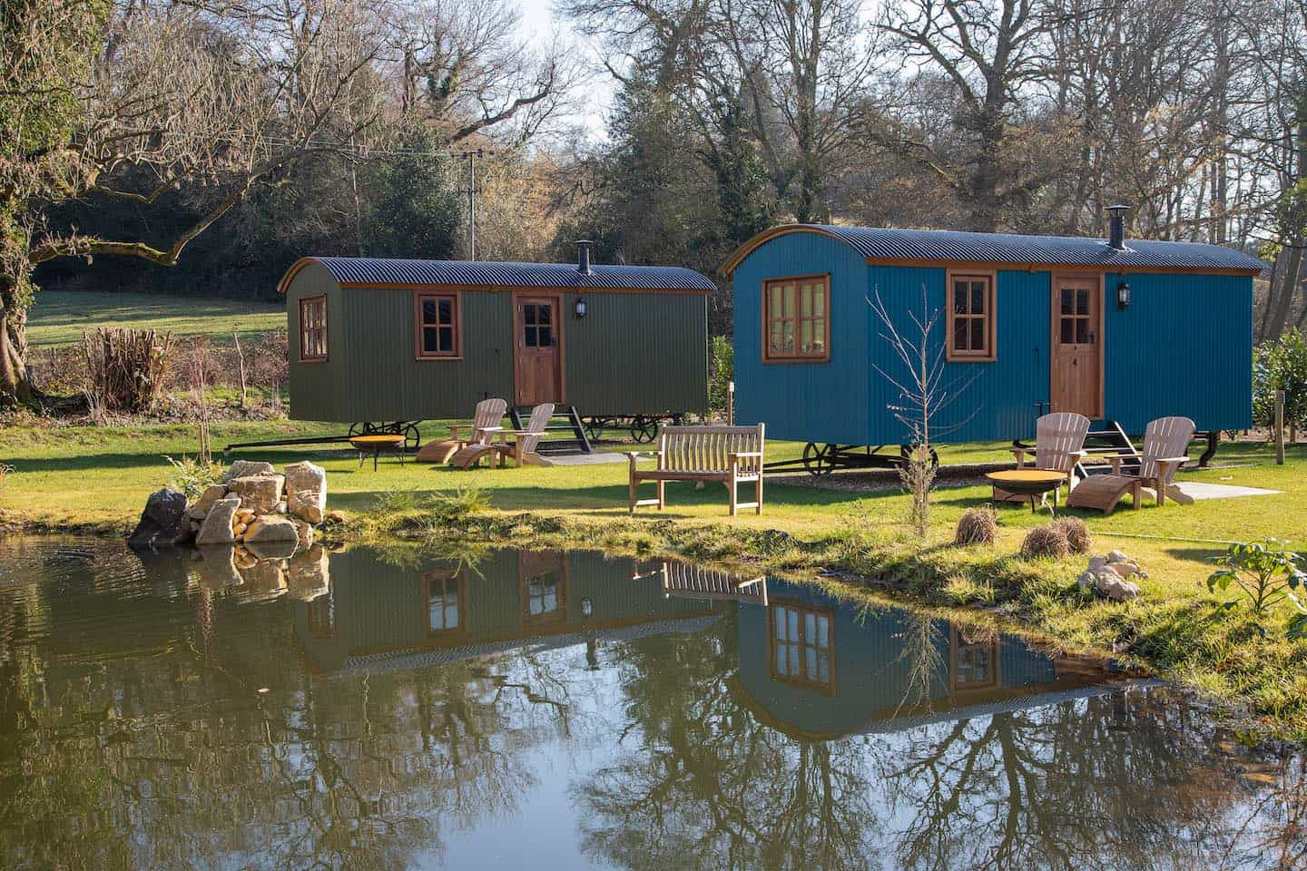 Dog-Friendly Holidays in the UK - Top Trends For 2021 - Merry Harriers Shepherds Huts