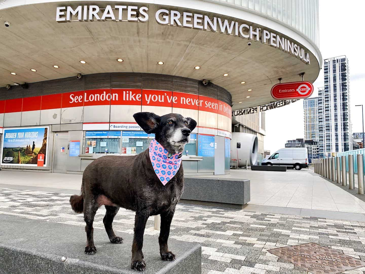 Dog-friendly Attractions in London - Emirates Air Line