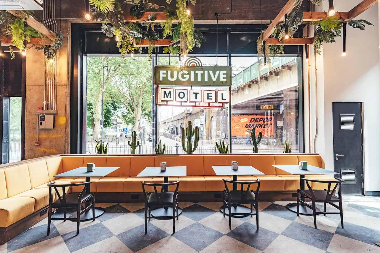 Dog-friendly Pizza Restaurants in London - Fugitive Motel