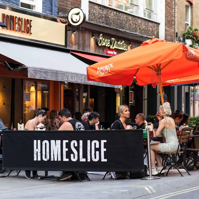 Dog-friendly Pizza Restaurants in London - Homeslice Marylebone