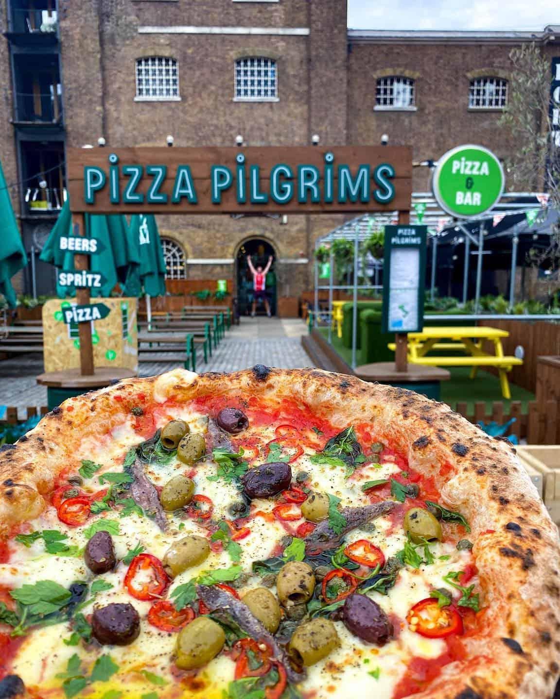 Dog-friendly Pizza Restaurants in London - Pizza Pilgrims West India Quay