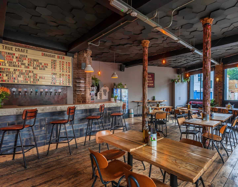 Dog-friendly Pizza Restaurants in London - True Craft Tottenham
