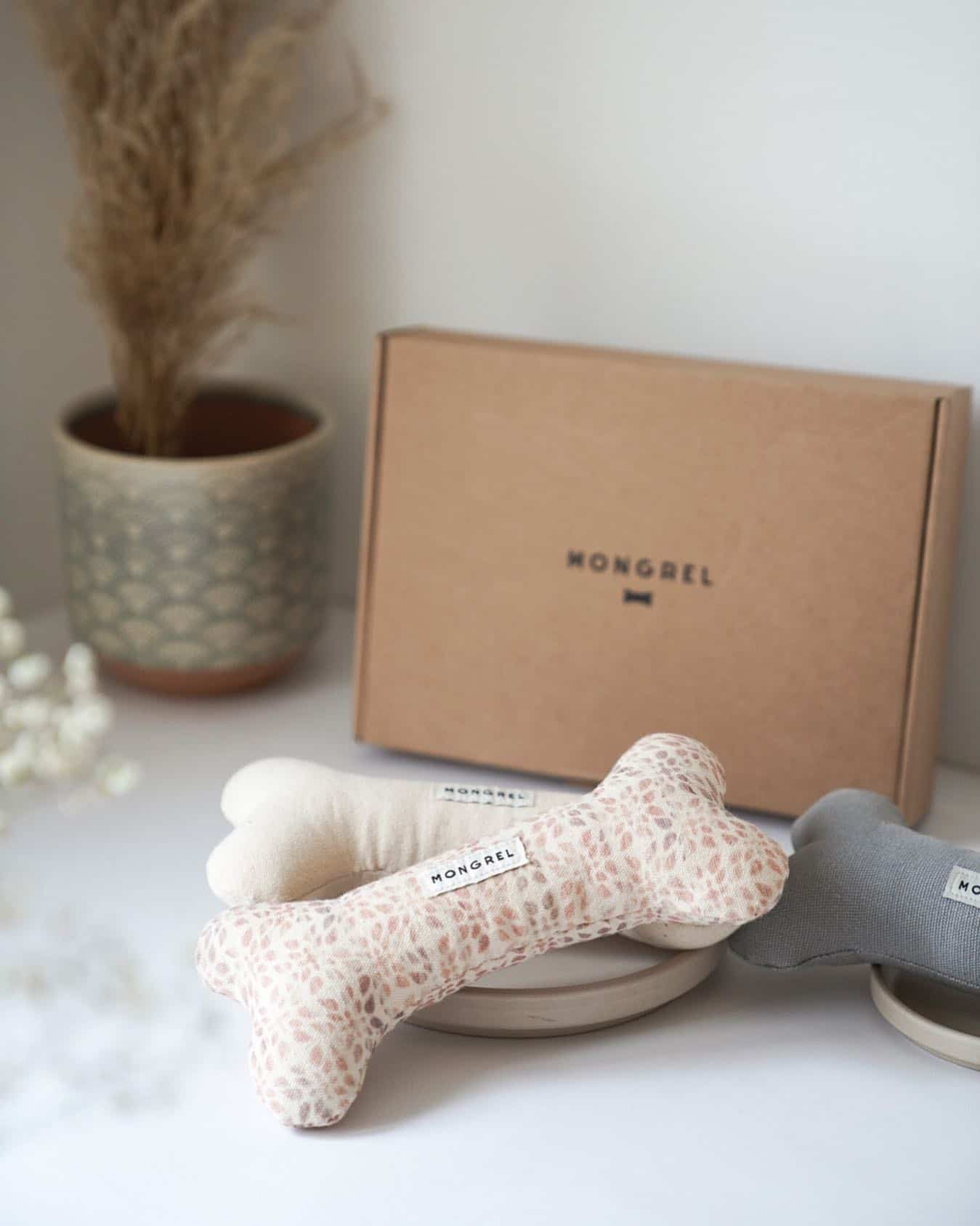 Recycled Dog Toys by Mongrel London
