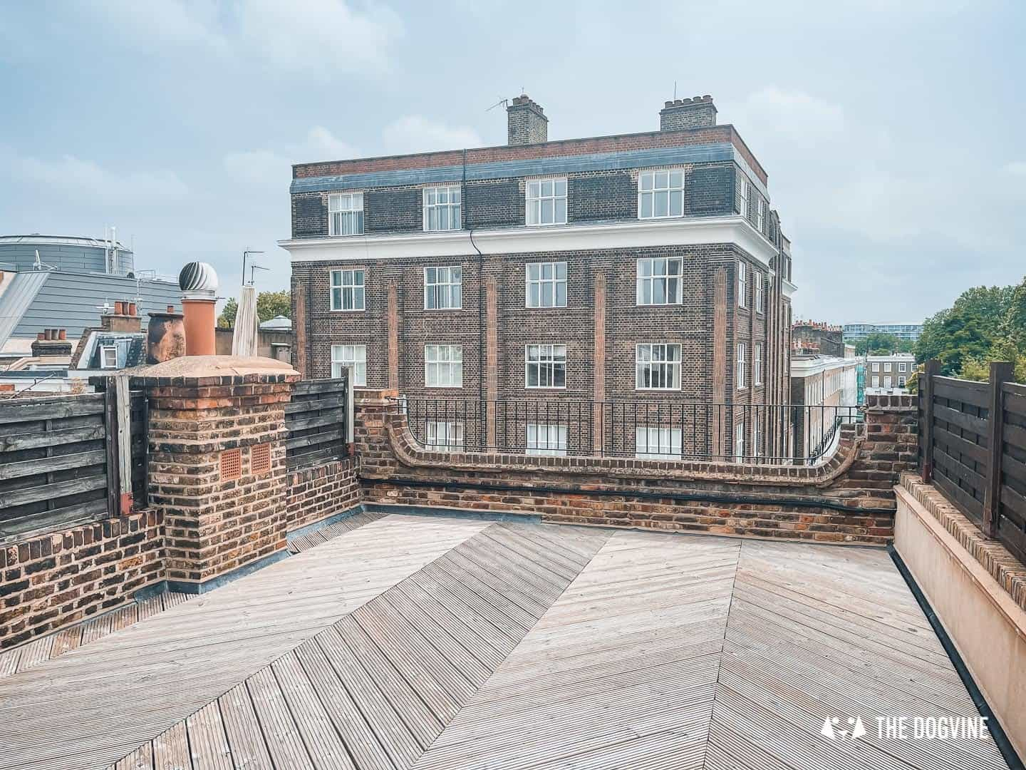 The roof terrace at Love My Human Townhouse