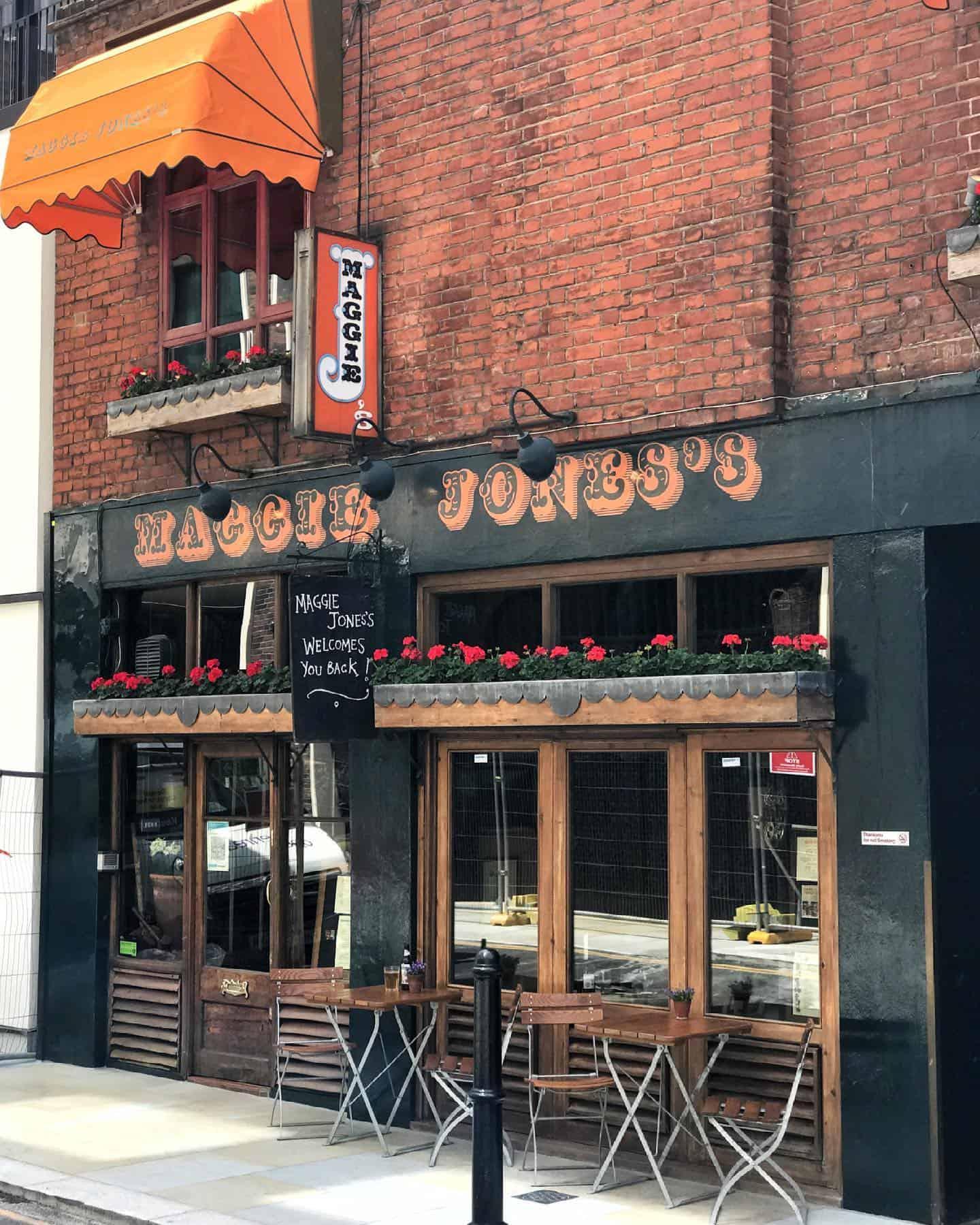 Maggie Jones's London