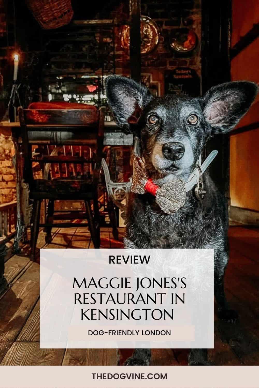 Review Maggie Jones's Restaurant Kensington